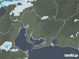 2021年07月10日の愛知県の雨雲レーダー