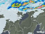 2021年07月10日の滋賀県の雨雲レーダー