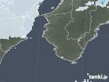 2021年07月10日の和歌山県の雨雲レーダー