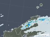 2021年07月10日の島根県の雨雲レーダー