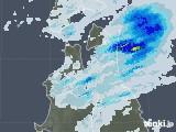 2021年07月10日の青森県の雨雲レーダー