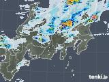 2021年07月11日の関東・甲信地方の雨雲レーダー