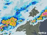 2021年07月11日の栃木県の雨雲レーダー