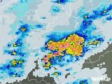 2021年07月11日の群馬県の雨雲レーダー
