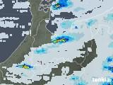 2021年07月11日の富山県の雨雲レーダー