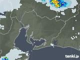 2021年07月11日の愛知県の雨雲レーダー
