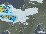 2021年07月11日の滋賀県の雨雲レーダー