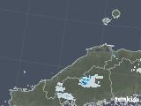 2021年07月11日の島根県の雨雲レーダー