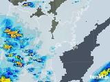 2021年07月11日の宮城県の雨雲レーダー
