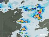 2021年07月12日の群馬県の雨雲レーダー