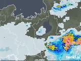 2021年07月12日の滋賀県の雨雲レーダー
