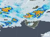 2021年07月12日の和歌山県の雨雲レーダー
