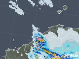 2021年07月12日の島根県の雨雲レーダー