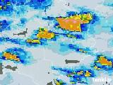 2021年07月12日の徳島県の雨雲レーダー