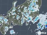 2021年07月13日の関東・甲信地方の雨雲レーダー