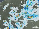 2021年07月13日の群馬県の雨雲レーダー