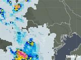 2021年07月13日の東京都の雨雲レーダー