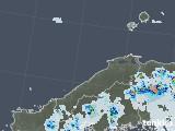 2021年07月13日の島根県の雨雲レーダー