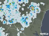 2021年07月14日の栃木県の雨雲レーダー