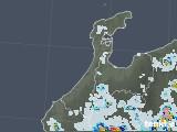 2021年07月14日の石川県の雨雲レーダー