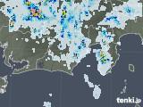2021年07月14日の静岡県の雨雲レーダー