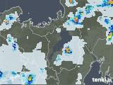 2021年07月14日の滋賀県の雨雲レーダー