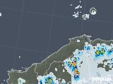 2021年07月14日の島根県の雨雲レーダー