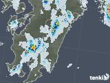 2021年07月14日の宮崎県の雨雲レーダー