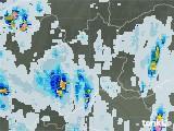 2021年07月15日の群馬県の雨雲レーダー
