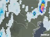 2021年07月15日の東京都の雨雲レーダー