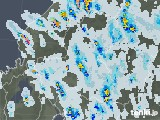 2021年07月15日の岐阜県の雨雲レーダー