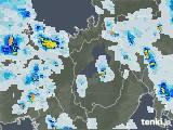 2021年07月15日の滋賀県の雨雲レーダー