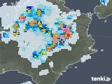 2021年07月15日の徳島県の雨雲レーダー