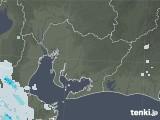 2021年07月16日の愛知県の雨雲レーダー