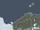 2021年07月17日の島根県の雨雲レーダー