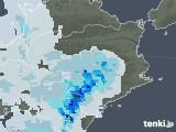 2021年07月17日の徳島県の雨雲レーダー