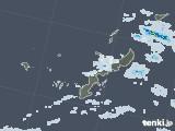2021年07月17日の沖縄県の雨雲レーダー