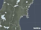 2021年07月17日の宮城県の雨雲レーダー