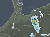 2021年07月18日の富山県の雨雲レーダー