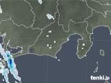 2021年07月18日の静岡県の雨雲レーダー