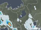 2021年07月18日の滋賀県の雨雲レーダー