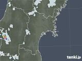 2021年07月18日の宮城県の雨雲レーダー