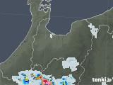 2021年07月19日の富山県の雨雲レーダー