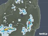 2021年07月20日の福島県の雨雲レーダー