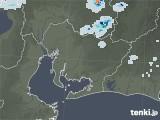 2021年07月20日の愛知県の雨雲レーダー