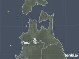 2021年07月20日の青森県の雨雲レーダー
