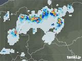 2021年07月21日の群馬県の雨雲レーダー