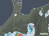 2021年07月21日の富山県の雨雲レーダー