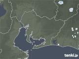 2021年07月21日の愛知県の雨雲レーダー