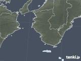 2021年07月21日の和歌山県の雨雲レーダー